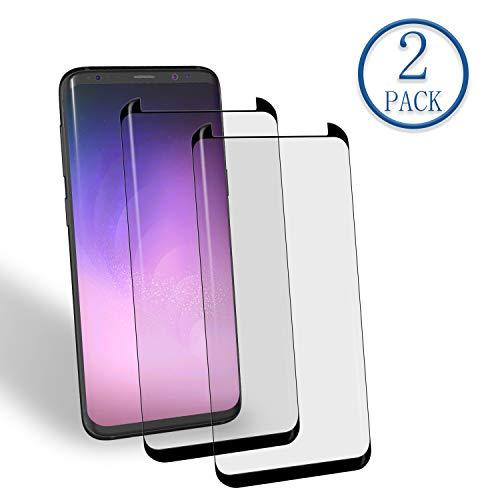 Galaxy S8 Panzerglas Schutzfolie, Aribest 2 Stück Panzerglasfolie für Samsung Galaxy S8 3D Full Coverage Panzerglas Ultra-Klar 9H Härte, HD Klar, Anti-Öl, Anti-Kratzen, Anti-Bläschen, 3D Touch Kompatibel