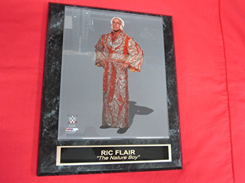 J & C Baseball Clubhouse Nature Boy RIC Flair WWE Collector Plaque w/8x10 Photo! (Wwe Pictures)