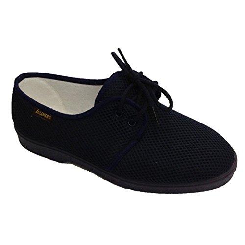Lacets de chaussures homme de sol très doux très confortable Salemera en bleu marine