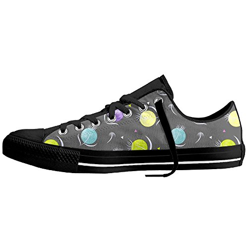 You Tube Christmas Shoes (Party Flowers Low-Cut Canvas Shoes Unisex Sneaker-All Season Casual Trainers For Men And Women ColourName Sizekey)