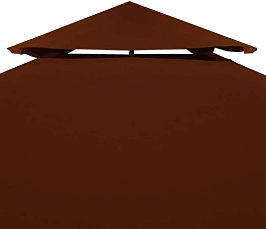 Tidyard Toldo de cenador Terracota 310 g/m² 4x3 m: Amazon.es: Hogar