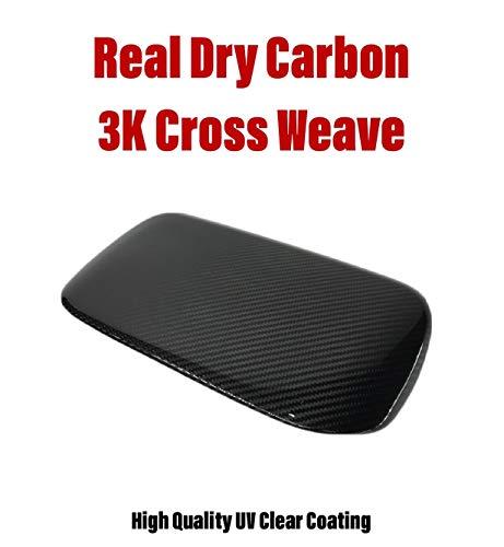 GOGOCARBON Instrument Panel Console Hood Cover Fits for Subaru WRX 2015-2018 Dry Carbon Fiber Black Color ()
