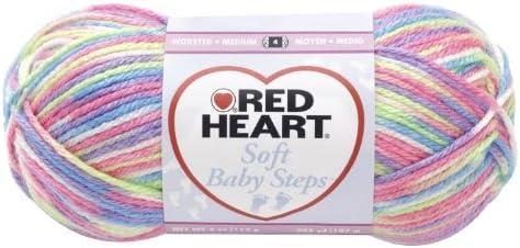 3Pk Coats Yarn E746-9937 Red Heart Soft Baby Steps Yarn-Giggle