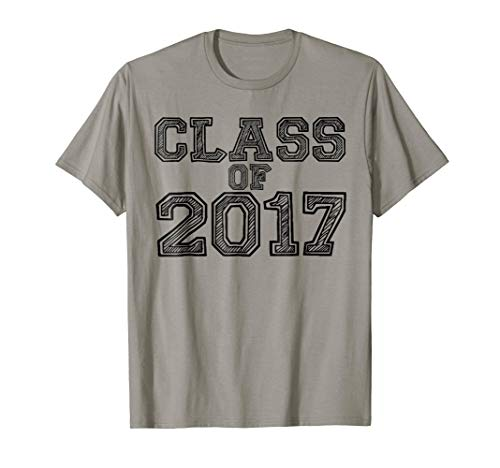 Class Of 2017 T-shirt Halloween Christmas Funny Cool