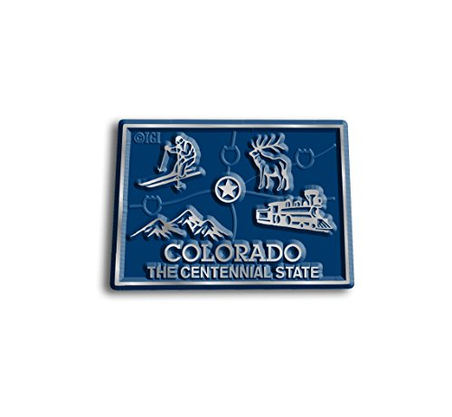 Colorado State Map Magnet (State Shape Flexible Magnet)