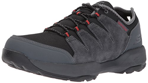 Skechers Mens Go Outdoor 2 Walking Shoe Carboncino / Nero