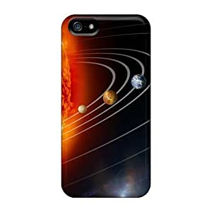 New Design Shatterproof Case For Iphone 5/5s (our Solar System)