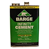 Original BARGE INFINITY Universal All-Purpose Clear Cement ONE GALLON by Quabaug Vibram Corporation