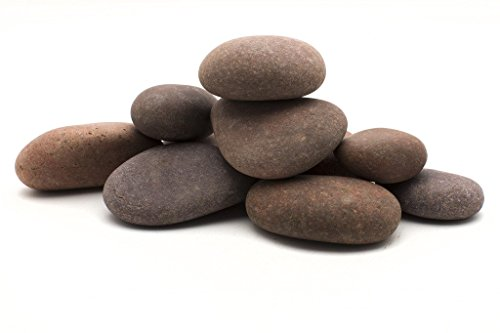 Rainforest 1″ to 3″ Small Rosa Mexican Beach Pebble, 30 lb, Red