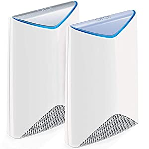 NETGEAR Orbi Pro Tri-Band WiFi System for Business with 3Gbps speed (SRK60) | 2-Pack includes 1 router & 1 wall-mount…