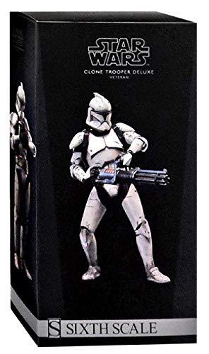 Sideshow Star Wars The Clone Wars Clone Trooper Veteran 1/6 Scale 12