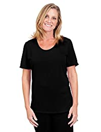 Cool-jams Wicking Sleepwear for Women – Mix and Match Scoop T-Shirt