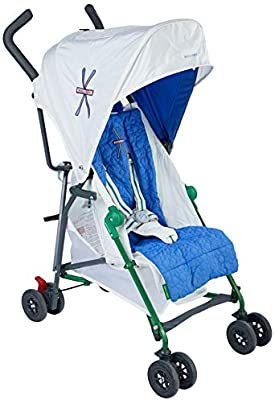 Maclaren Mark II Alpine Silla de paseo - súper ligero, de los 6 meses hasta los 25 kg, Asiento multiposición, con accesorios