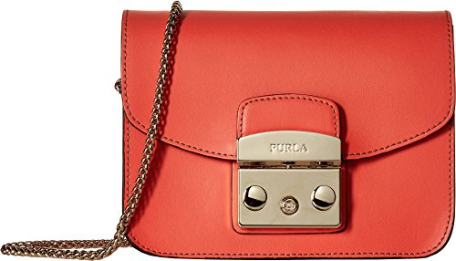 Furla Women's Metropolis Mini Crossbody Mango One Size - Furla Accessories