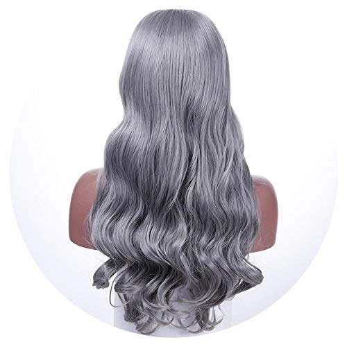 Long Wavy Cosplay Brown Synthetic Hair Wigs For African Heat Resistant Hair Costume -