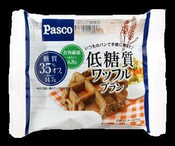 パスコ 低糖質ワッフルブラン