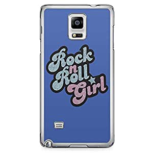 Loud UniverSE Find Nemo Tshirt Samsung Note 4 CaSE Finding Nemo Rock n Roll Girl Samsung Note 4 Cover with Transparent Edges