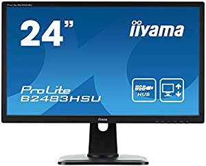 iiyama Full HD(1920x1080)モード対応 昇降付WLEDバックライト24型ワイド液晶ディスプレイ B2483HSU-B1DP iiyama Full HD(1920x1080)モード対応 昇降付WLEDバックライト24型ワイド液晶ディスプレイ B2483HSU-B1DP