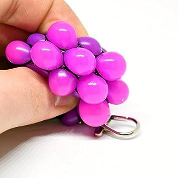 Schlüsselanhänger Netz Stressball Schlüsselringe Schlüssel Ringe im 4er Set