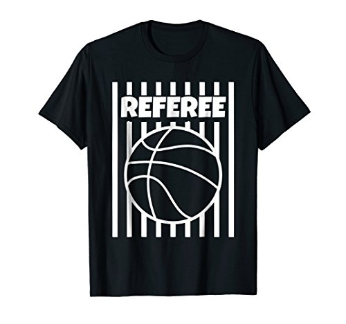 Referee Basketball Ball Gear Outfit Shirt Tshirt