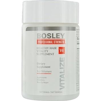 Amazon.com: Bosley Professional Strength Hair, Skin and Nail ...