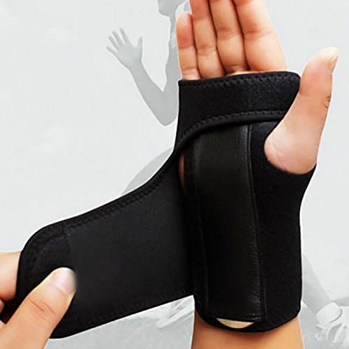 Professional 19' Lcd (Nynoi bowling wrist support right hand mongoose storm Arthritis Band Carpal Tunnel Hand Wrist Support Brace Accessories 1 pc)