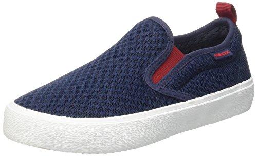 Geox Jr Kiwi Boy B - Zapatos Primeros Pasos Para Bebés Blau (NAVY/REDC0735)