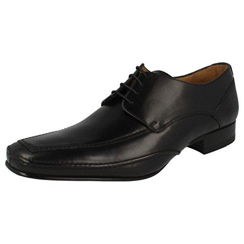 Loake , Herren Schnürhalbschuhe mehrfarbig mehrfarbig, schwarz - schwarz - Größe: 42