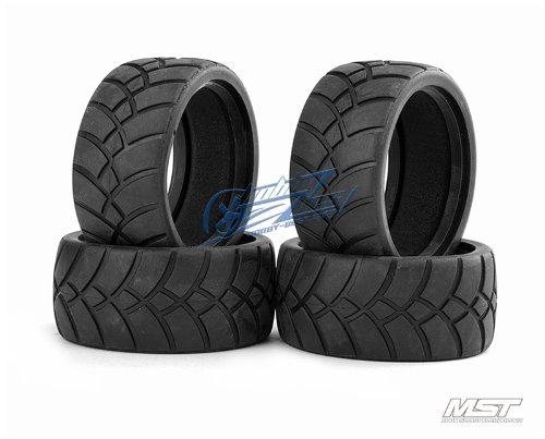 MST St Tire (4 Pcs) Rc 1/10 Drift Car Wheels [101016]