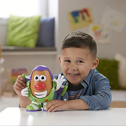 41YOxLWaAEL - Mr Potato Head Disney/Pixar Toy Story 4 Spud Lightyear Figure Toy for Kids Ages 2 & Up