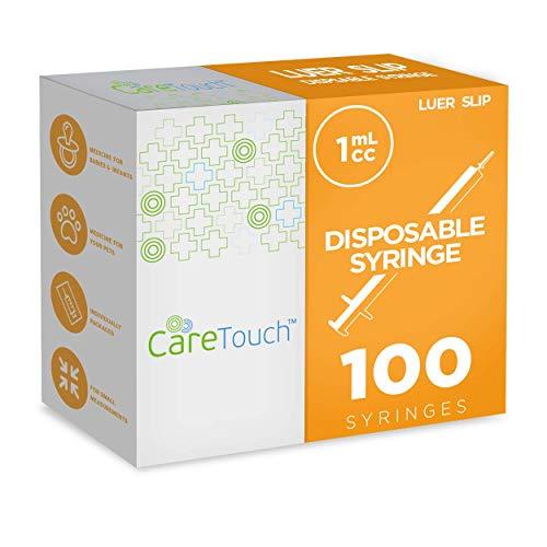 - Luer Slip Syringe 1ml - 100ct No Needle