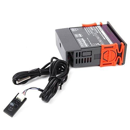 TOOGOO (R) WH8040 regulador digitales de control de la humedad del aire: Amazon.es: Bricolaje y herramientas
