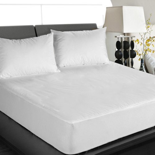 Premium Quality Ultra Soft Bed Bug Protector Waterproof Microfiber Deep Pocket Zipper Mattress Cover, Full Size