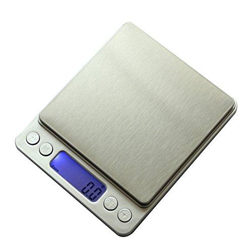 Fiesta 3000 g x 0.1 g Mini cocinas electrónicas portátiles cales Alimentación Dieta Escala postal Bolsillo Digital...