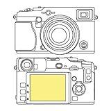 Martin Fields Overlay Plus Screen Protector (FujiFilm X-Pro 1)