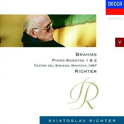 Richter spielt Brahms