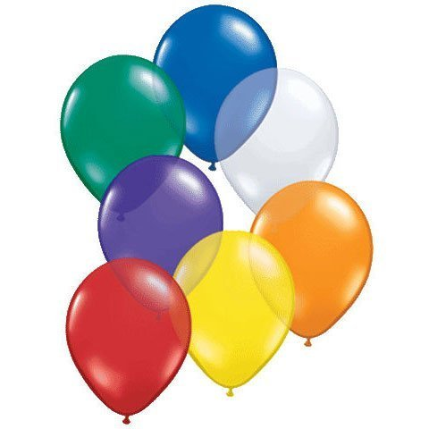 Jewel Assorted Latex Balloons - 3