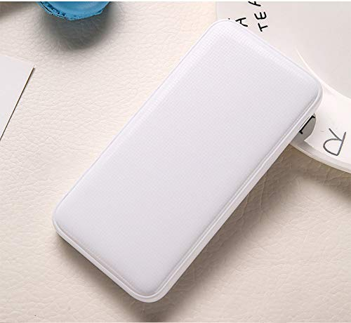 Price comparison product image T.Face Large-Capacity Polymer 20000 mA Explosion-Proof Fast Charge 2A Charging Treasure High-End Mobile Power (White)