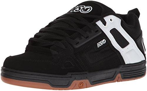 979 Comanche Skateboard Dvs Homme black De Shoes Chaussures Nubuck Noir White TIpwq5vn