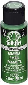 FolkArt Enamel Paint Evergreen