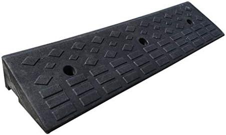 屋内/屋外 4センチメートル - 13センチの高スロープ、自走式車椅子スロープスクータースロープ車の車両の縁石スロープスクーターホイール上り坂スロープ 車庫アクセサリ (Color : Black, Size : 100*25*9cm)