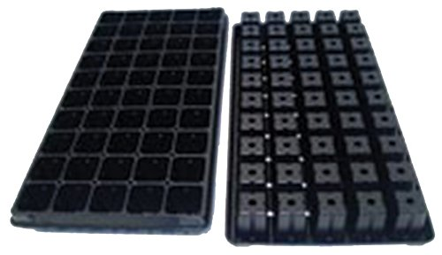 50 Cell Vented Plug Tray - Propagation/Seed Starting Tray - 100 Trays by Growers Solution by Grower's Solution