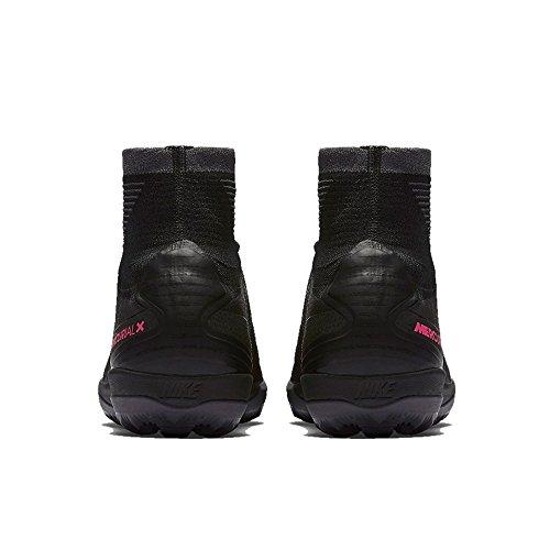 Nike Heren Nike Mercurialx Proximo Ii 2 Grasmat Tf Zwart / Zwart-donker Grijs Maat 10 Heren Ons