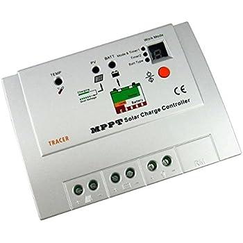Tracer MPPT Tracer1210RN Solar Charge Controller Regulator 12/24V INPUT 10A