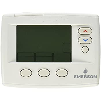 41YP%2BHjZmZL._SL500_AC_SS350_ emerson 1f85 0422 2 heat and cool stages programmable thermostat wiring diagram for a emerson up310 thermostat at eliteediting.co