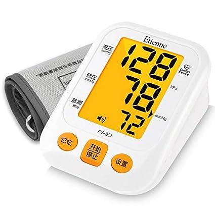 TensióMetros Monitor De PresióN Arterial ElectróNico Para Personas Mayores Tipo De Brazo En El Hogar Luz