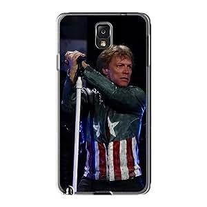 Samsung Galaxy Note3 CCY16224uKdB Provide Private Custom Vivid Bon Jovi Pictures Best Hard Phone Case -MansourMurray