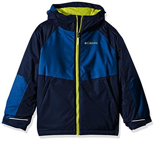 Columbia Little Boy's Alpine Action Ii Jacket, Small, Collegiate Navy/Super Blue