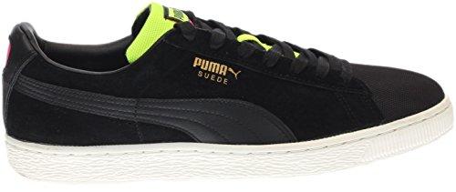 Puma Hombres Suede Classic Tricks Black / Star White