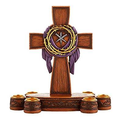 AT001 1pc Lenten Candleholder